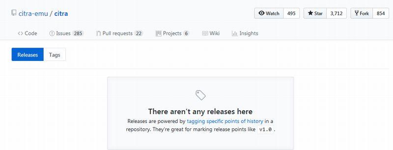 GitHub releaseページから何もダウンロード出来ない場合