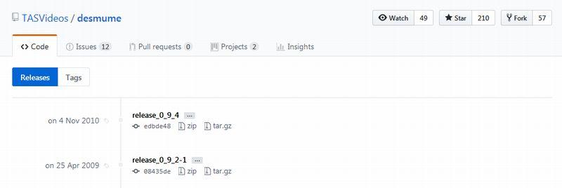 GitHub releaseページからソースのみダウンロード可能な場合