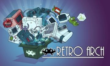 RetroArch 公式トップイメージ