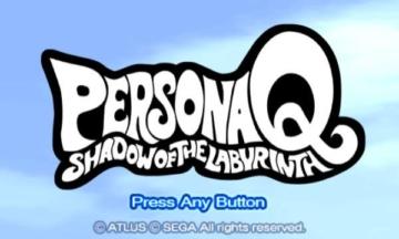 [3DS] ペルソナQ タイトル画面