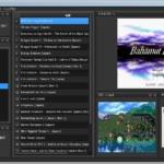 RetroArch プレイリスト作成 WIMP サンプルレイアウト