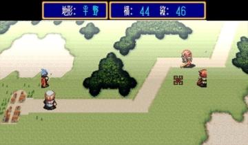 bsnes ワイドスクリーン アルバートオデッセイ フィールド画面 キャラクターの表示は本来の枠内のみか