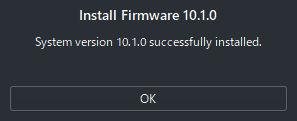 Switchエミュ Ryujinxの導入と設定 ファームウェアのインストール完了