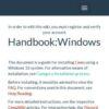 Handbook:Windows - Cemu Wiki